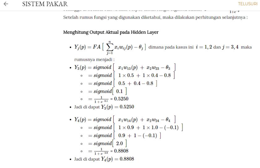 penampilan rumus hasil MathJax